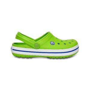 Crocs Volt Green & Varsity Blue Crocband™ Clog - Unisex | zulily