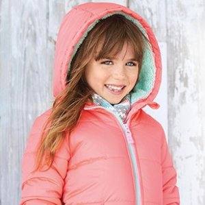 50% Off + Extra 25% Off $50 Baby and Kid's Outerwear @ Carter's
