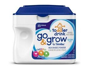 $87.26(reg.$117.26) Go & Grow by Similac, Stage 3 Milk Based Toddler Drink, Powder