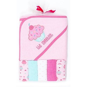 Cutie Pie® 6-Piece  Towel and Washcloth Set