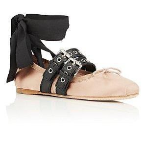 Miu Miu 绑带鞋