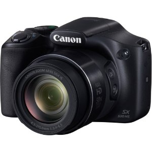 Canon PowerShot SX530 HS Camera (Black) | Jet.com