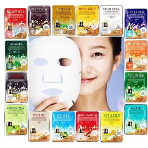 $10.93 Malie Korea Ultra Hydrating Moisture Essence Face Facial Mask Sheet Combo Pack 16pcs