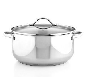 $9.99 After Rebate Stainless Steel 8 Qt. Casserole with Lid