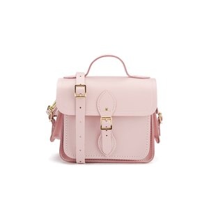 The Cambridge Satchel Company Women's Small Traveller with Side Pockets - Dusky Rose