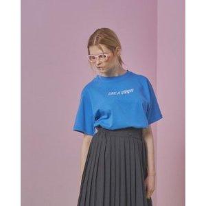 ANOTHER A Like A Virgin T Shirt (blue)