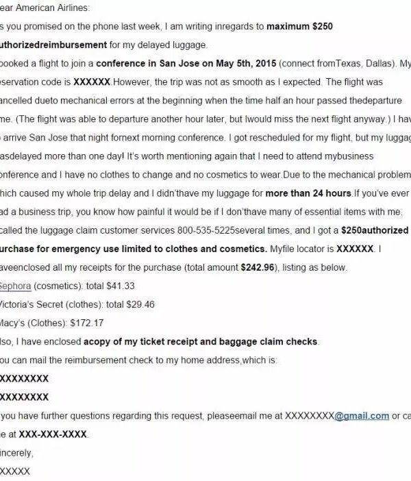 粉丝亲身经历分享 American Airline 索赔全过程 北美省钱快报