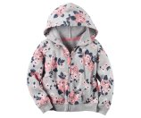 Baby Girl French Terry Zip-Up Hoodie | Carters.com