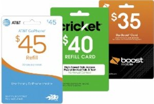 10% off Prepaid Phone Cards (T-Mobile, AT&T, Verizon, Boost Mobile & More)
