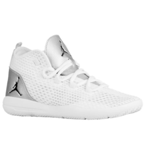 Jordan Reveal - Boys' Grade School - Basketball - Shoes - White/Black/Metallic Silver/Infrared 23