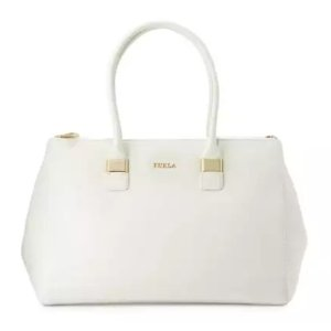 Furla Amelia Large Leather Tote Bag, Petalo