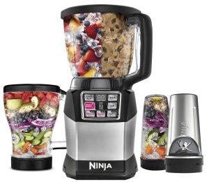 Ninja - Nutri Ninja Auto-iQ Compact System 6-Speed Blender