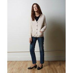 MODERNE | Sylvia Alpaca Handknit Cardigan | Shop at La Garçonne