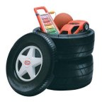 $39 Little Tikes Classic Racing Tire Toy Chest