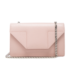 Saint Laurent Small Betty Chain Bag in Pale Blush | FWRD