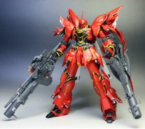 Bandai Hobby MG Version Sinanju Animation Color Model Kit