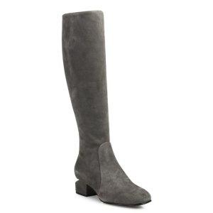 Alexander Wang Ashton Tilt-Heel Suede Boots