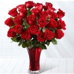 Valentine's Day Flowers and Vase from FTD.com. Shipping Included. @ Groupon