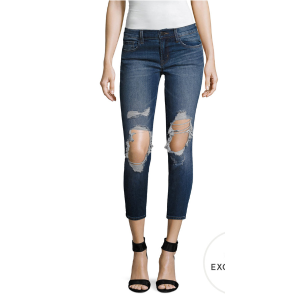 Low-Rise Cropped Skinny Jean by J Brand at Gilt