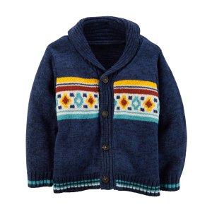 Toddler Boy Southwest Shawl Cardigan | Carters.com