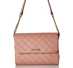 $65.42( Reg $100.13)Extra 30% Off Calvin Klein Permanent Quilted Pebble Shoulder Bag
