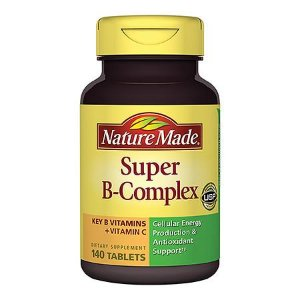 Nature Made Super B-Complex Dietary Supplement Tablets | Walgreens