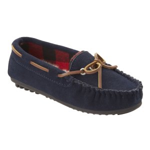 CHANSLEY SUEDE MOCCASINS