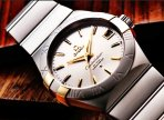 $3395 OMEGA Constellation Co-Axial Automatic Stainless Steel and Yellow Gold Men's Watch