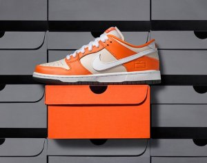 $100 Nike SB Dunk Low Orange Box @ Nike Store