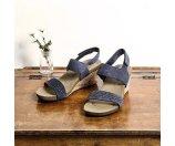 Total Motion Taja Perf Quarter Strap Sandal