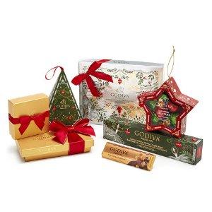 Home For The Holidays Gift Basket | GODIVA