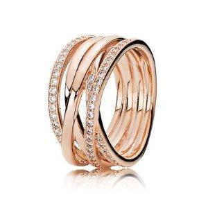 Entwined, PANDORA Rose™ & Clear CZ | PANDORA Jewelry US