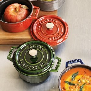 Up to 46% Off + Extra 25% Off + Extra 15% Off Staub Cookwares on Sale @ macys.com