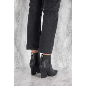 Mid Heel Pointy Boot - Buy online | NA-KD