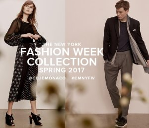 Free Shipping on All OrdersThe New York Fashion Week Exclusive @ Club Monaco