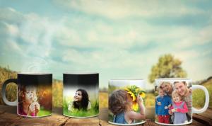 Personalized Photo Mug or Magic Photo Mug from CanvasOnSale