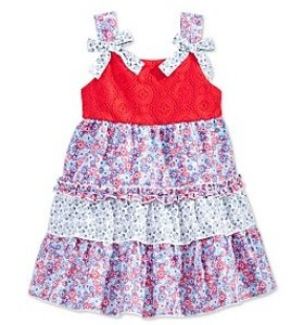 Up to 74% Off + Extra 20% Off Kids's Dresses @ macys
