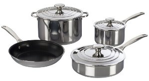 Le Cresuset 7-PIECE STAINLESS STEEL SET