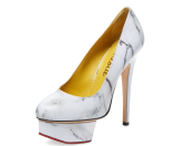 Dolly Platform Pump by Charlotte Olympia