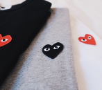 $75 Off $350 comme des garcons play Purchase @ Saks Fifth Avenue