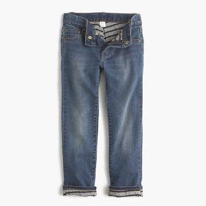 Boys' Jersey-Lined Cozy Jean In Tyner Wash : Boys' Jeans   J.Crew