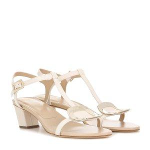Roger Vivier - Chips leather sandals