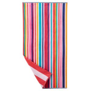 4 FOR $22 The Big One Reversible Beach Towel