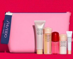 6-pc Skincare Bonus of Your ChoiceWith Orders over $75 @ Shiseido