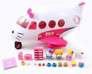 $23.99Hello Kitty粉色飞机玩具套装