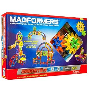 $51.24 Magformers Magnets in Motion Set (61-pieces)