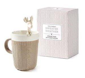 $0.97Oh Deer Ceramic Mug with Deer Spoon