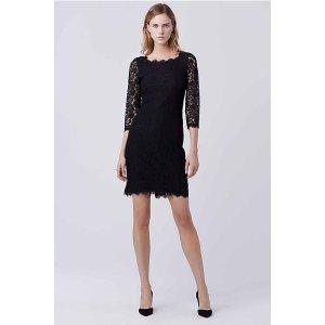 Zarita Long Lace Dress | by DVF