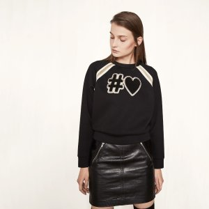 25% Off Women's Sweatshirt @ Maje