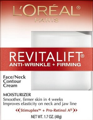 20% Off + $10 GC L'Oreal® Paris Revitalift Anti-Wrinkle + Firming Face/Neck Contour Cream